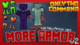 getlinkyoutube.com-MORE ARMOR with only two commands! [v2] | Minecraft 1.10 + 1.11