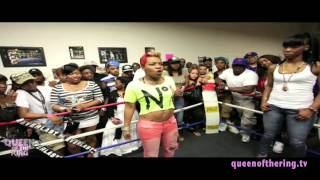 BABS BUNNY & VAGUE presents QUEEN OF THE RING PHARA FUNERAL vs NORMA BAYTS (THROW BACK)