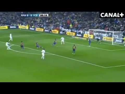 Real Madrid - Barcelona FASTEST GOAL - Valdes Goalkeeper FAIL