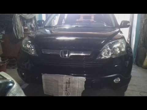 Honda CR-V 2006г. Чистка дроссельной заслонки.