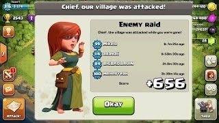ULTIMATE - (TH7) UNBEATABLE CLASH OF CLANS (CoC) BEST WAR/ TROPHY DEFENSE BASE TOWN HALL LEVEL 7