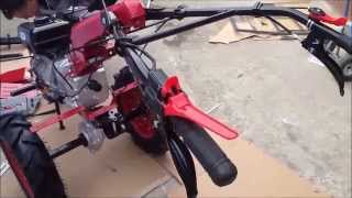 getlinkyoutube.com-Motocultor Benzina 9CP BSR 1100 D Instructiuni Montaj