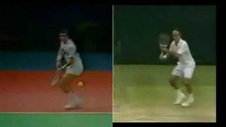 getlinkyoutube.com-Borg Lendl Federer - Forehand's Evolution