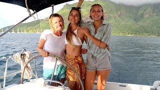 getlinkyoutube.com-Sailing with 3 Girls in French Polynesia… (Sailing La Vagabonde) Ep. 59