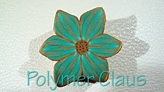 (English sub) Tropical Color Millefiori cane (polymer clay tutorial - fimo tutorial)