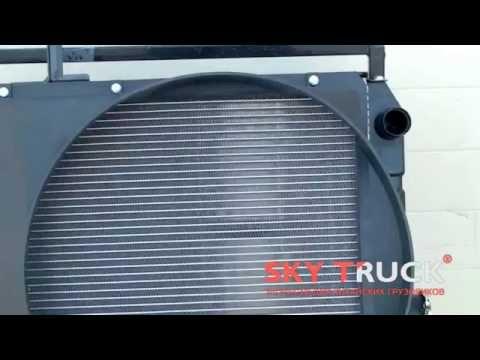 Радиатор охлаждения двигателя BAW-1044 Fenix Евро-2 Yuejin 1041