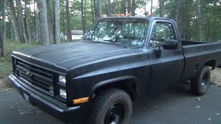 Truck Update : September 2015 (1986 Chevy K20 V8 350 Small Block)