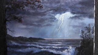 getlinkyoutube.com-Paint with Kevin Hill - Lightning Storm
