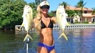 getlinkyoutube.com-Darcie Inshore Saltwater Fishing the Barra Bounty Online