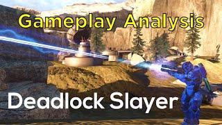 getlinkyoutube.com-Big Team Slayer on Deadlock - Halo 5 Gameplay Analysis