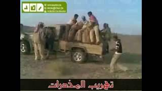 عمليات تهريب المخدرات والافارقة لاسرائيل من سيناء