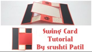 getlinkyoutube.com-Swing Card Tutorial by Srushti Patil