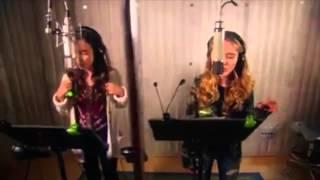"getlinkyoutube.com-Take On The World (""Girl Meets World"" Theme) - Sabrina Carpenter, Rowan Blanchard"
