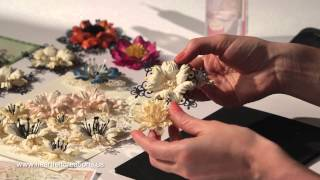 getlinkyoutube.com-How do I create elegant papercrafted flowers? 5 step by step techniques