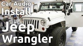 2012 Jeep Wrangler w/ Roll Cage Speaker Install | In-Depth Procedure