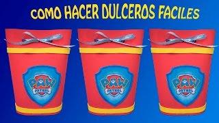 getlinkyoutube.com-COMO HACER DULCERO PATRULLA CANINA/ PAW PATRO/patrulla de cachorros