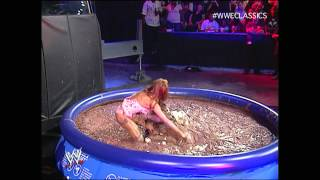 getlinkyoutube.com-Candice vs. Melina (Pudding Match) - June 3, 2007