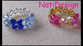 getlinkyoutube.com-ANILLOS TRES FLORES