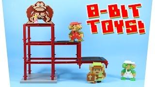 getlinkyoutube.com-World of Nintendo 8-Bit Mario Luigi Donkey Kong & Link Toys Series 1-5