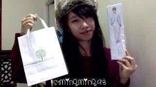 getlinkyoutube.com-EXO - Nature Republic - Mini Haul + Miracles in December Merchandise & Poster Unboxing