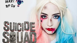getlinkyoutube.com-[How to]Harley Quinn Makeup ด้วยเครื่องสำอาง Drugstore | By Soundtiss