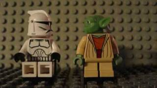 getlinkyoutube.com-Lego Star Wars - Yoda Forgets To Take His Meds