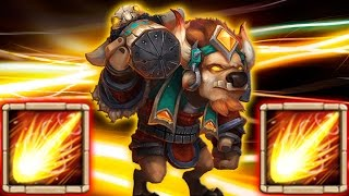 getlinkyoutube.com-Minotaur Chieftain 10/10 Skill 5/5 Revitalize!!!