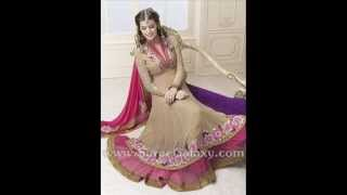 getlinkyoutube.com-Exclusive Anarkali Churidar Suits