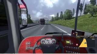 getlinkyoutube.com-Euro Truck Simulator 2 Thailand Mod Bus Panoramico DD 2007 6x2 v1.15.x/1.16.x Part2
