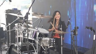 getlinkyoutube.com-Gamma1 - Jomblo Happy LIVE Drum Cover by Nur Amira Syahira