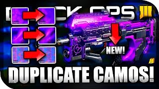 "getlinkyoutube.com-*NEW* ""UNLOCK ALL CAMOS INSTANTLY IN BLACK OPS 3!"" - ""DUPLICATE ALL"" CAMOS & DLC CAMOS GLITCH!"