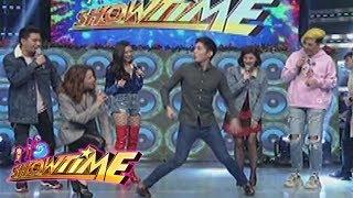 "It's Showtime: Robi Domingo takes on the ""Taga Saan Ka?"" challenge"