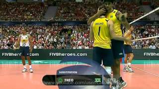 getlinkyoutube.com-Brazil vs Russia - FIVB Volleyball World League Final