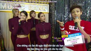 getlinkyoutube.com-[Vietsub] 131108 BTS JUNGKOOK & V - MusicBank Waiting Room MCs - BTSVN.COM SubTeam