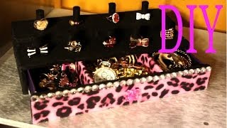 getlinkyoutube.com-Exhibidor de Anillos - Joyero - Ring Stand