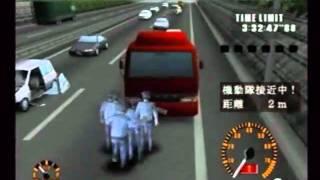 getlinkyoutube.com-【逃走ハイウェイ】警察車両が走行しながら爆破