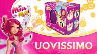 getlinkyoutube.com-Mia and me – Scopriamo insieme l'Uovissimo Mattel 2015!