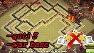 getlinkyoutube.com-Clash of Clans (CoC) TH10 War Base [Anti 3 Star] w/275 Walls