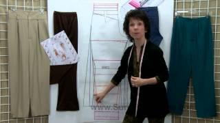 getlinkyoutube.com-How to: Pants Pattern Designing Tutorial