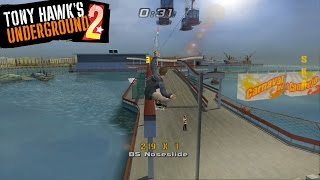 [60 FPS] Dolphin Emulator 5.0-3021 | Tony Hawk's Underground 2 [1080p] | Nintendo GameCube