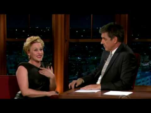 Patricia Arquette [ part 1 ] The Late Late Show with Craig Ferguson 10/01/2009