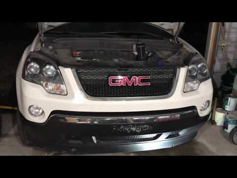 GMC Acadia Transmission Oil Drain/Flush Results