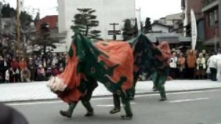 getlinkyoutube.com-獅子舞(お旅所にて)3