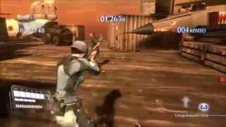 getlinkyoutube.com-Resident Evil 6 PC - Mod test - Jill reverse Roundhouse from Revelations 2