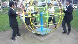 getlinkyoutube.com-公園で遊ぶ高校生