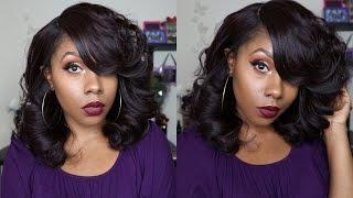 getlinkyoutube.com-Sexy Hair 😉 Sensationnel Empress Curved Part NOVA  *DivaTress.com*