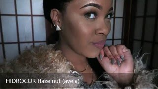 getlinkyoutube.com-Solotica HIDROCOR Hazelnut (avela) Contact Review