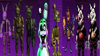 getlinkyoutube.com-Five Nights at Freddy's 3: The Sequel All Animatronics [EXTRA]