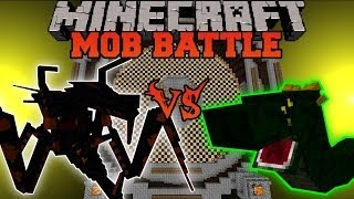getlinkyoutube.com-Jumpy Bug Vs. Basilisk - Minecraft Mob Battles - OreSpawn Mods Battle