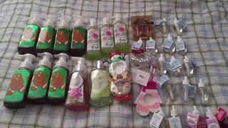 Bath and Body Works dumpster dive haul